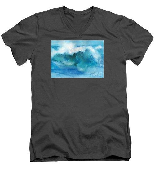 Catch The Wave Men's V-Neck T-Shirt