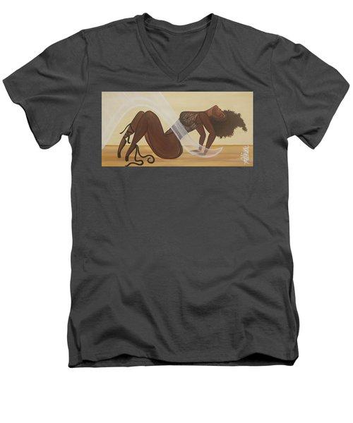 Catching The Breeze Men's V-Neck T-Shirt