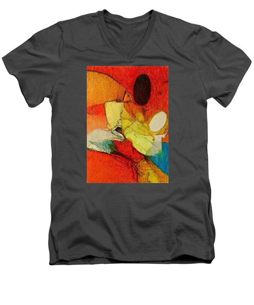 Caterpillar  Vision Men's V-Neck T-Shirt