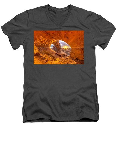 Cave Arch Men's V-Neck T-Shirt