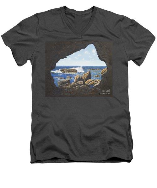 Cave View Men's V-Neck T-Shirt