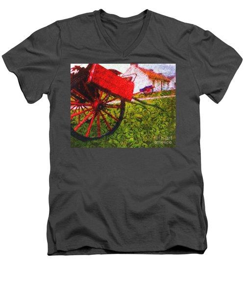 Cead Mile Failte  Men's V-Neck T-Shirt