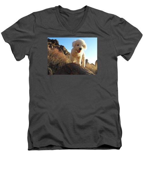 Ceaser Men's V-Neck T-Shirt