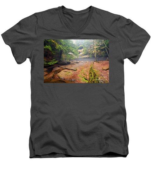 Cedar Falls Men's V-Neck T-Shirt