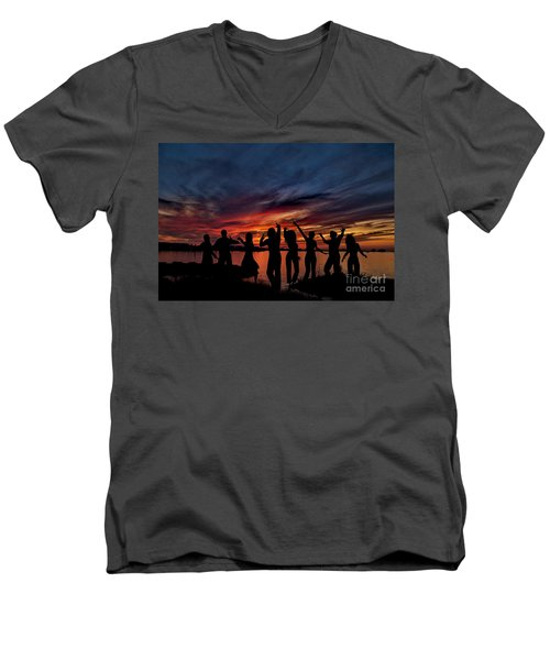 Celebration Men's V-Neck T-Shirt