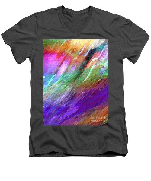 Celeritas 46 Men's V-Neck T-Shirt