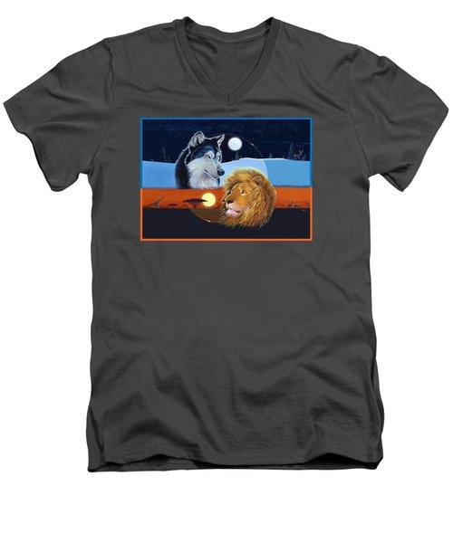 Celestial Kings Men's V-Neck T-Shirt