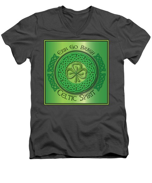 Celtic Spirit Men's V-Neck T-Shirt