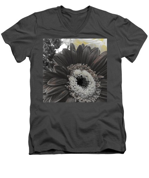 Men's V-Neck T-Shirt featuring the photograph Centerpiece by Photographic Arts And Design Studio