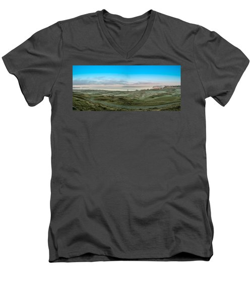 Chambers Bay Panorama Men's V-Neck T-Shirt