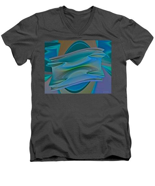 Changing Expectations Men's V-Neck T-Shirt by Judi Suni Hall