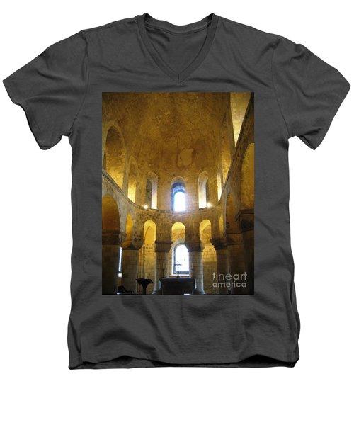 Chapel Glow Men's V-Neck T-Shirt