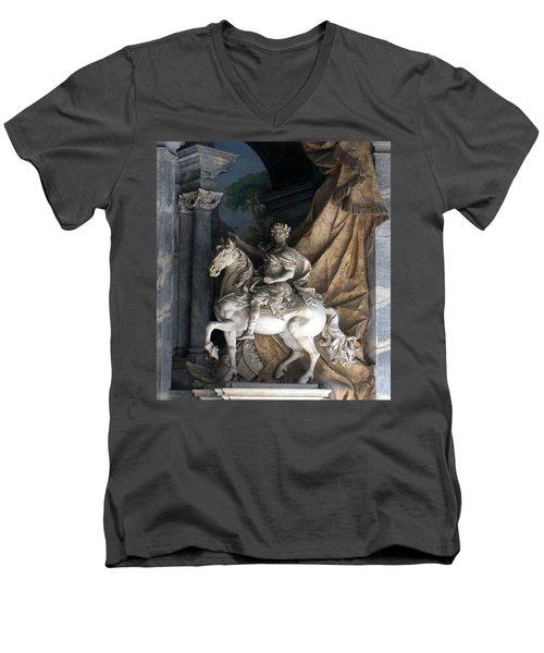 Charlemagne  Men's V-Neck T-Shirt