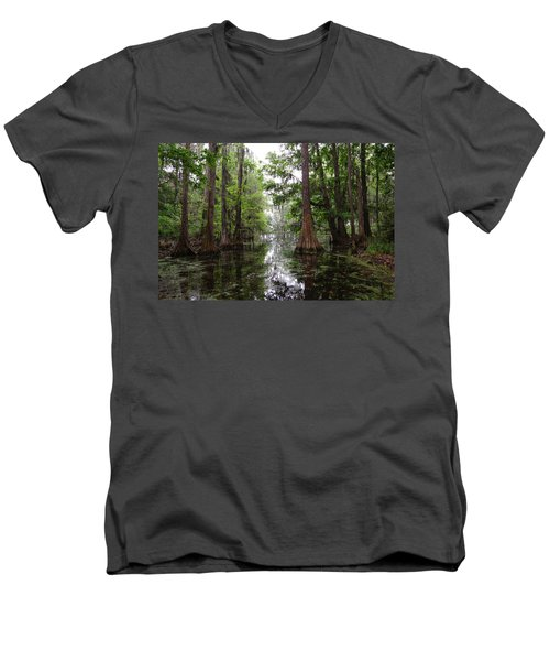 Charleston Swamp Men's V-Neck T-Shirt
