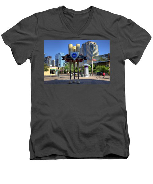 Chase Field Men's V-Neck T-Shirt
