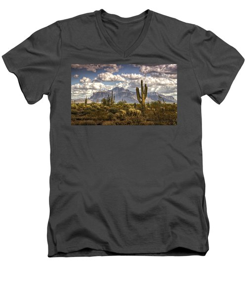 Chasing Clouds Two  Men's V-Neck T-Shirt