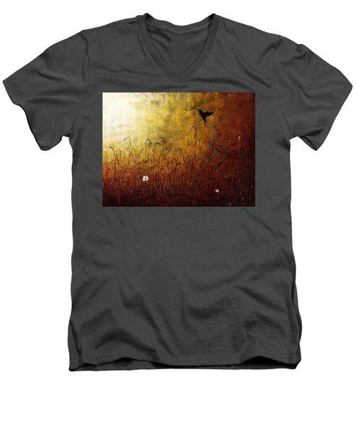 Chasing The Light Men's V-Neck T-Shirt