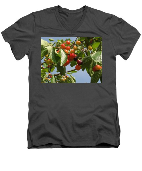 Men's V-Neck T-Shirt featuring the photograph There's Always 'that One' by Natalie Ortiz
