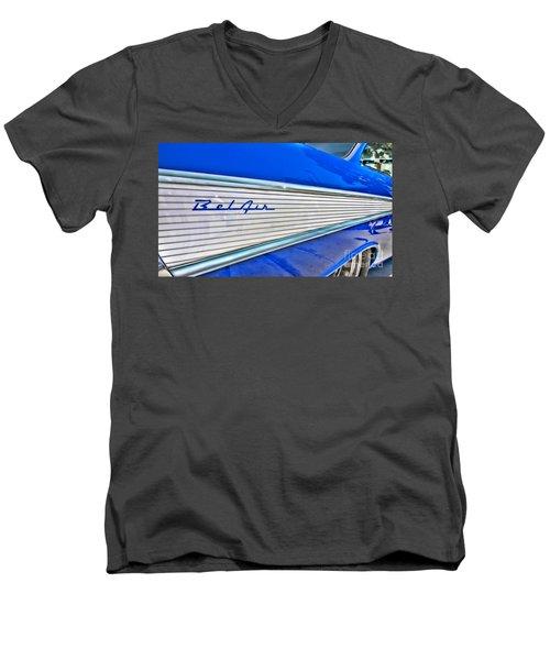 Chevy Bel Air Men's V-Neck T-Shirt