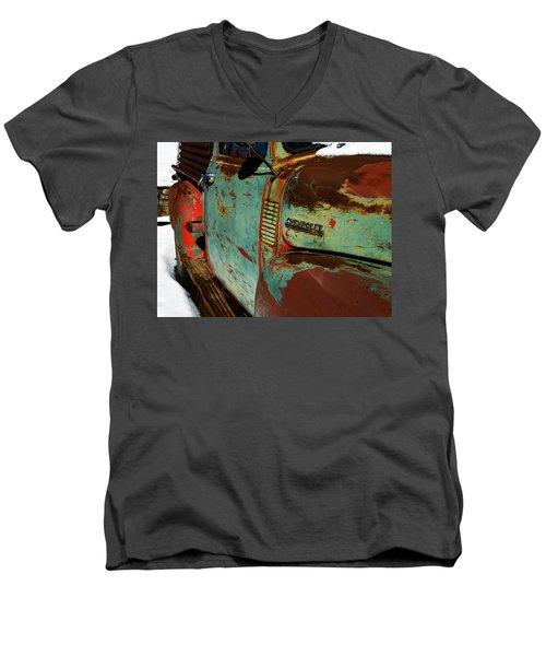 Arroyo Seco Chevy Men's V-Neck T-Shirt