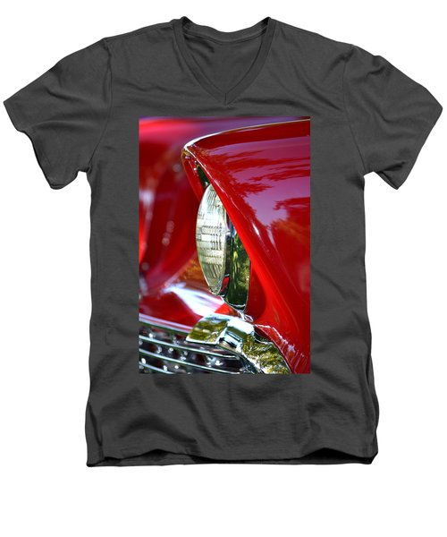 Chevy Headlight Men's V-Neck T-Shirt