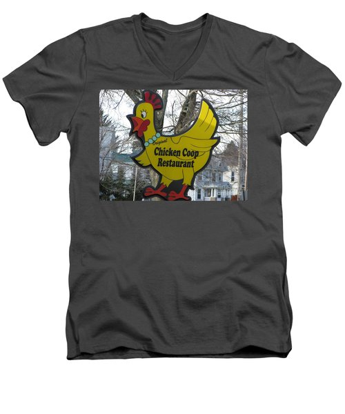 Chicken Coop Men's V-Neck T-Shirt