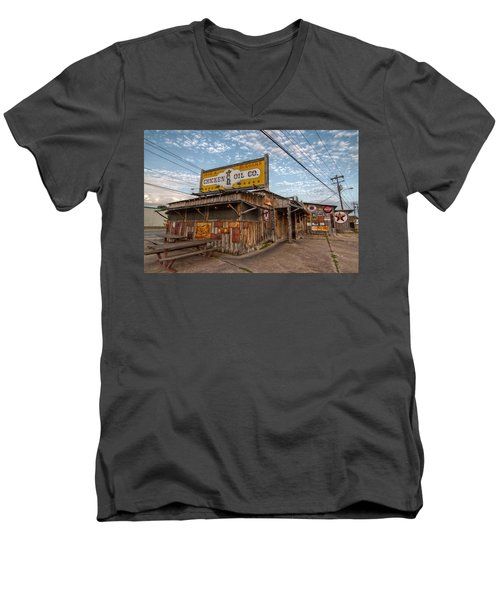 Chicken Oil Company Men's V-Neck T-Shirt