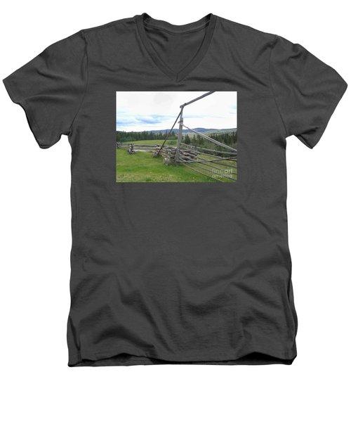 Chilcoltin Way Men's V-Neck T-Shirt