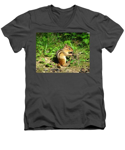 Chippy Men's V-Neck T-Shirt