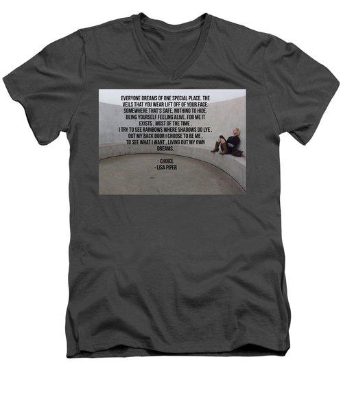 Choice Men's V-Neck T-Shirt