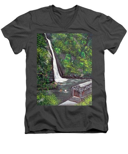 Chorro De Dona Juana Men's V-Neck T-Shirt