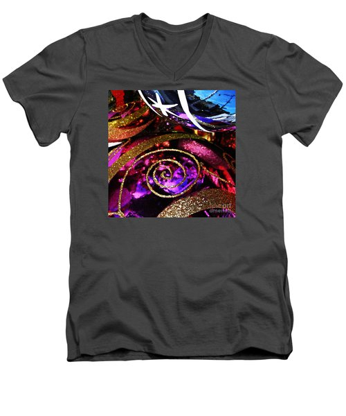 Christmas Abstract 20 Men's V-Neck T-Shirt
