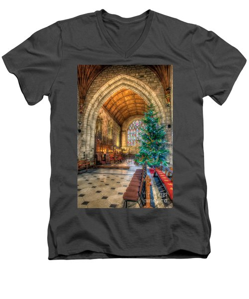 Christmas Tree Men's V-Neck T-Shirt