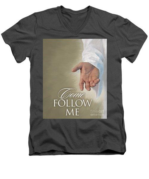 Christ's Hand Men's V-Neck T-Shirt