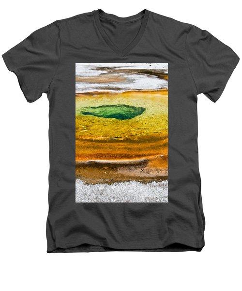 Chromatic Pool Vertical Men's V-Neck T-Shirt