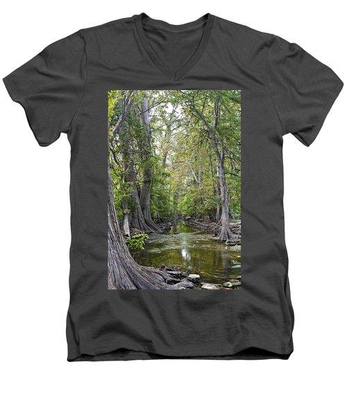 Cibolo Creek - 2 Men's V-Neck T-Shirt