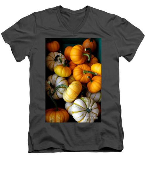 Cinderella Pumpkin Pile Men's V-Neck T-Shirt