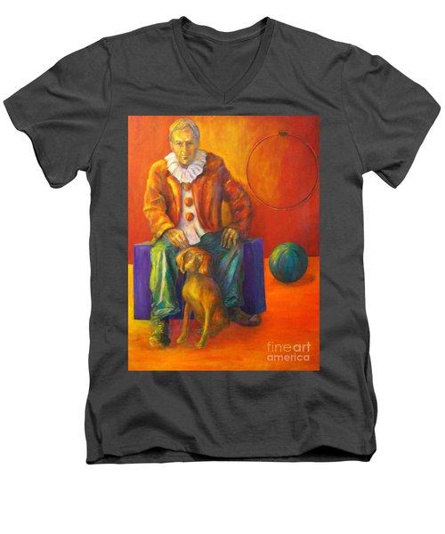 Circus Men's V-Neck T-Shirt
