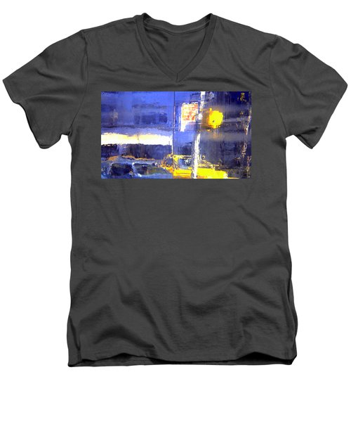 City Reflection Men's V-Neck T-Shirt