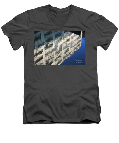City Reflections Men's V-Neck T-Shirt