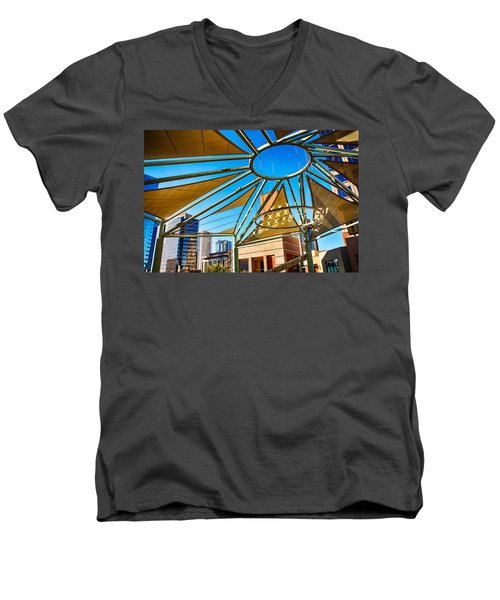 City Shapes Men's V-Neck T-Shirt
