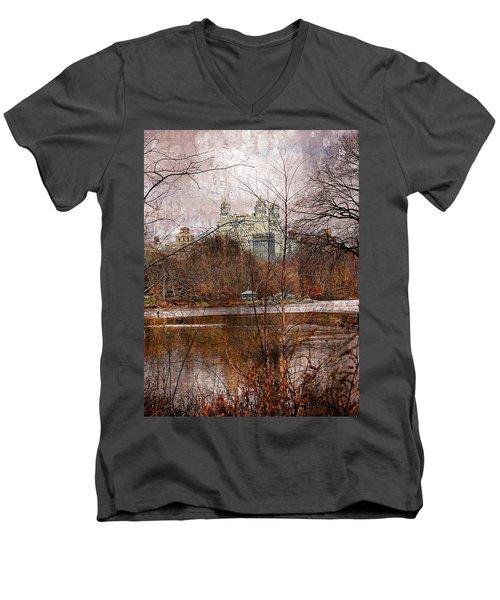 New York City View Series 02 Men's V-Neck T-Shirt