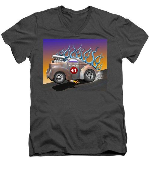 Class Of 41 Men's V-Neck T-Shirt by Stuart Swartz