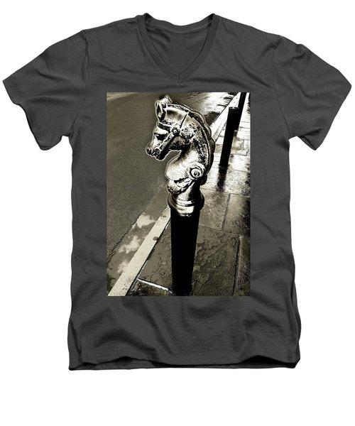 Classic Royal Men's V-Neck T-Shirt