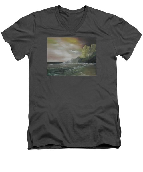 Cliff Bay Men's V-Neck T-Shirt