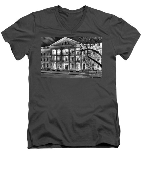 Clinton House Ithaca Men's V-Neck T-Shirt
