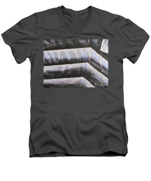 Clipart 002 Men's V-Neck T-Shirt by Luke Galutia