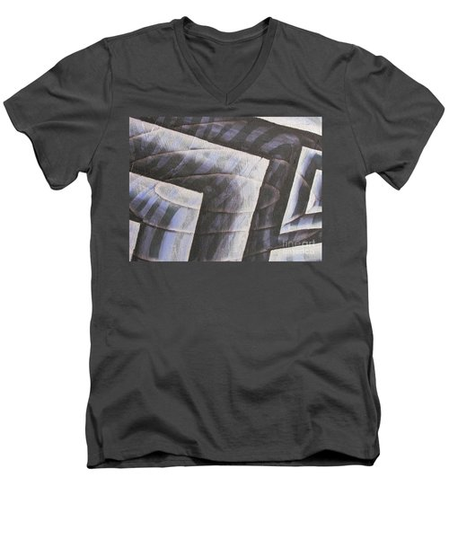 Clipart 006 Men's V-Neck T-Shirt by Luke Galutia