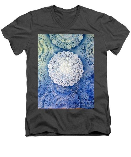 Clipart 011 Men's V-Neck T-Shirt by Luke Galutia