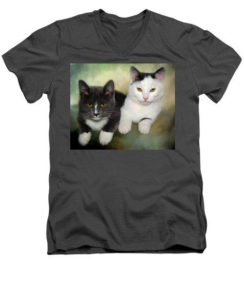 Close Friends Men's V-Neck T-Shirt